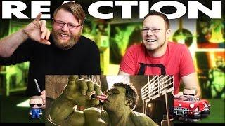 Hulk vs. Ant-Man Coca-Cola Super Bowl TV Spot REACTION!!
