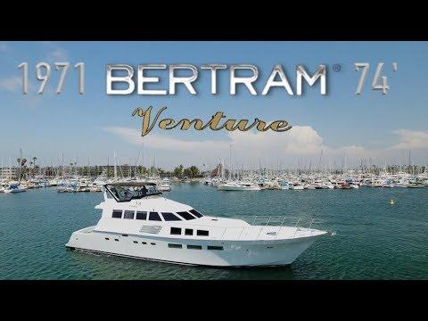 1971 Bertram 74 'Venture' - For Sale - San Diego, CA