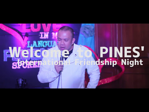 [Study English in The Philippines] Friendship Night: Love in Many Languages, Fluently Spoken Here