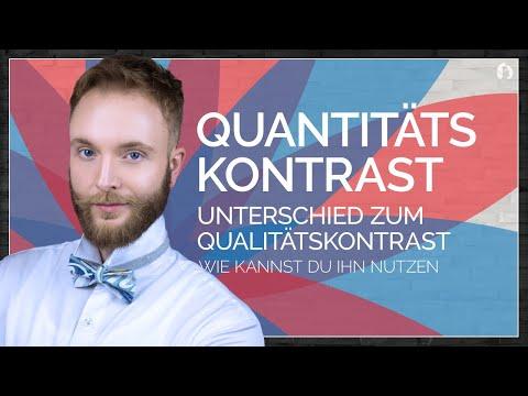 Der Quantitätskontrast -
