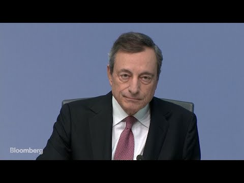 ECB President Draghi Goes Out With a Bang, Huge Stimulus Package