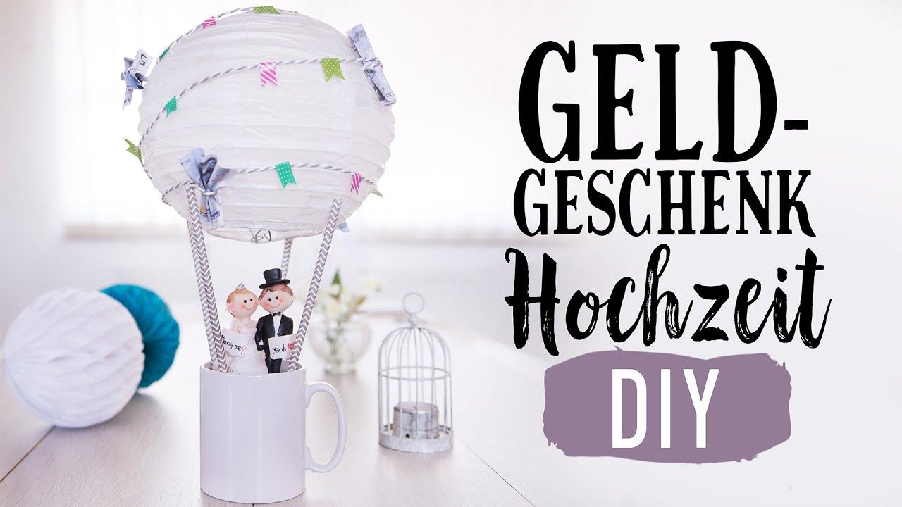 HOCHZEITSGESCHENKE selber machen Sammelgeschenk GELDGESCHENK fr Brautpaar  YouTube