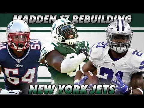 Madden 17 Connected Franchise   Rebuilding The New York Jets   99 OFFENSE 99 DEFENSE!