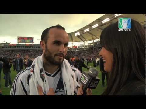 Landon Donovan MLS Cup POSTGAME: Donovan excited to make history with 5th Cup win