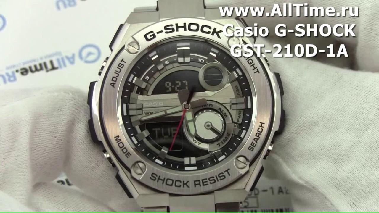 Мужские японские наручные часы Casio BEM-111D-1A - YouTube