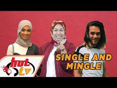 """Artis Malaysia lelaki masih """"SINGLE"""" and ready to """"MINGLE""""!"""