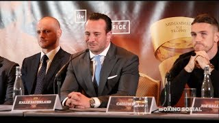 GEORGE GROVES VS CALLUM SMITH - FULL PRESS CONFERENCE FOR WORLD BOXING SUPER SERIES FINAL