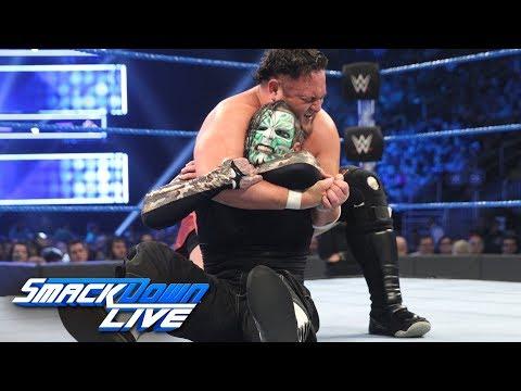Jeff Hardy vs. Samoa Joe: SmackDown LIVE, Jan. 1, 2019