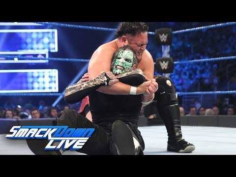 Jeff Hardy vs. Samoa Joe: SmackDown LIVE, Jan. 1, 2019