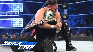 Download Video Jeff Hardy vs. Samoa Joe: SmackDown LIVE, Jan. 1, 2019 MP3 3GP MP4
