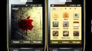 Samsung Corby 2 Themes for Free