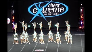 cheer extreme sr elite nca day 2 single cam view