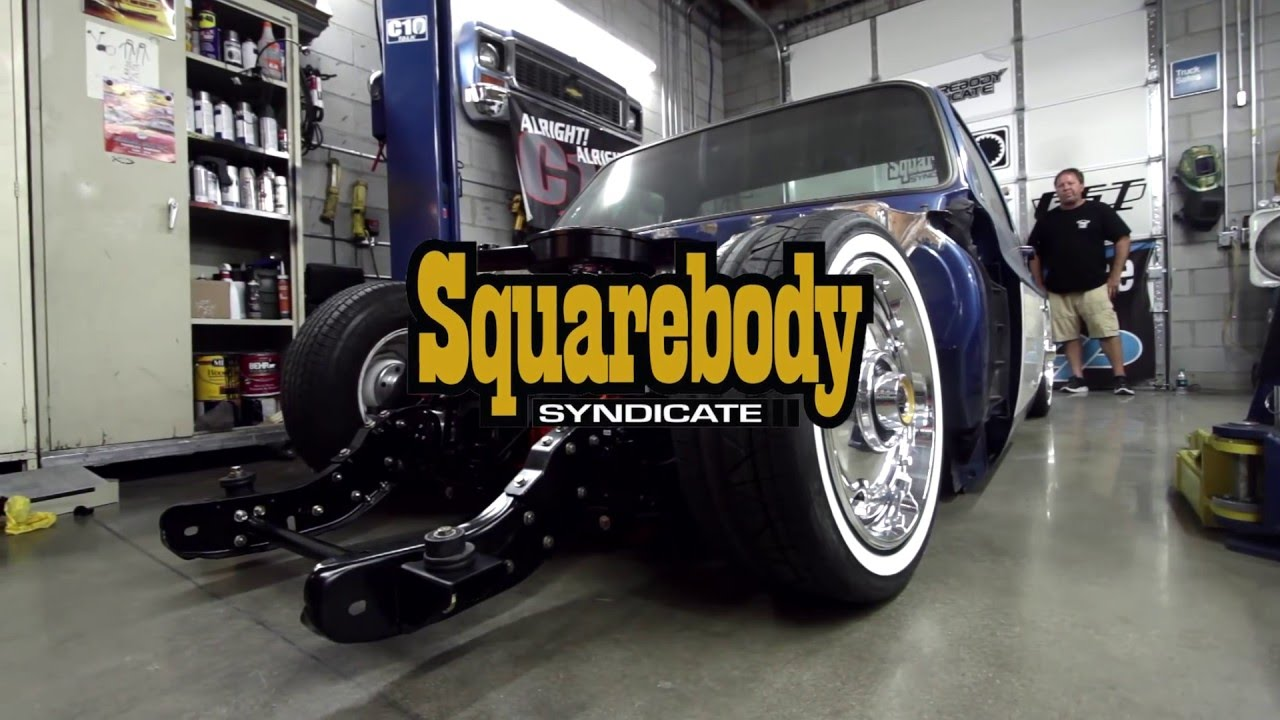 squarebody syndicate  chevy  syndicate series  truck build youtube
