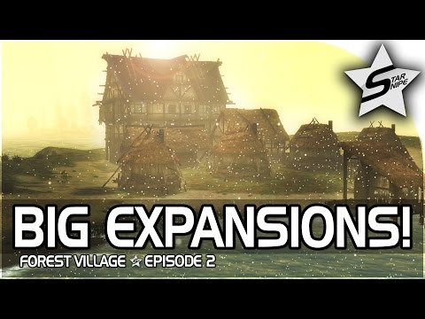 "Life is Feudal: Forest Village Gameplay Part 2 - ""YUUUUUUUGGGEEEEE EXPANSION & WINTER!"""