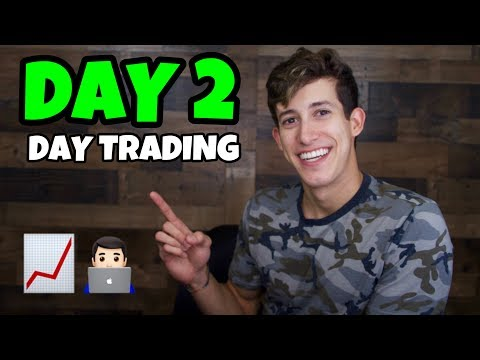 DAY TRADING THE STOCK MARKET BLIND   DAY 2 2019