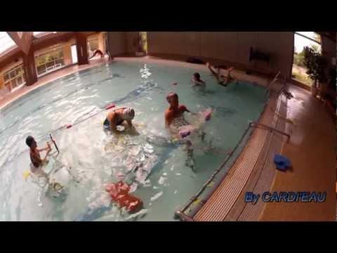 CIRCUIT CARDI'EAU TRAINING dans couloir de nage