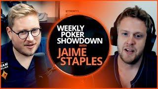 Guest Ryan Schoonbaert!  - Weekly Poker Showdown Episode 3