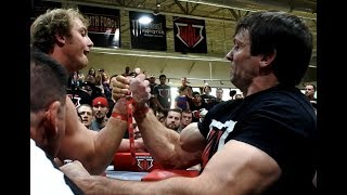Armwrestling 2016 | Devon Larratt ALL MATCHES | WAL Northern Regionals