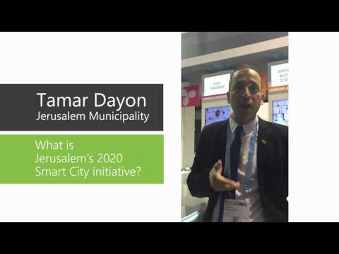 Tamar Dayon - What is Jerusalem's 2020 Smart City Initiative?