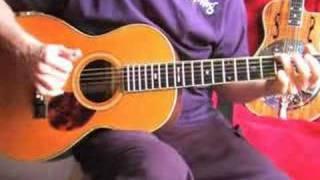 Under The Double Eagle - flatpick instrumental (fingerpicked)