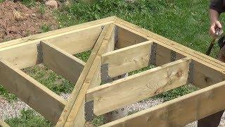 DIY Deck Part 7 - Connecting Corner Joists