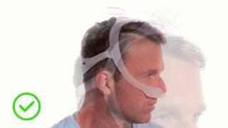 Guide vidéo du choix de la taille et de mise en place du masque DreamWear Philips
