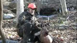 Jackson County Alabama drop tine buck recovery 14 yrs old .308