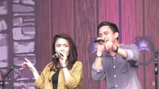 Video Hivi! - Siapkah Kau Tuk Jatuh Cinta Lagi @ SMAN 99 Jakarta 2016 [HD] download MP3, 3GP, MP4, WEBM, AVI, FLV November 2017