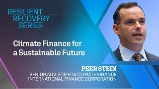 The Resilient Recovery Series: Climate Finance for a Sustainable Future