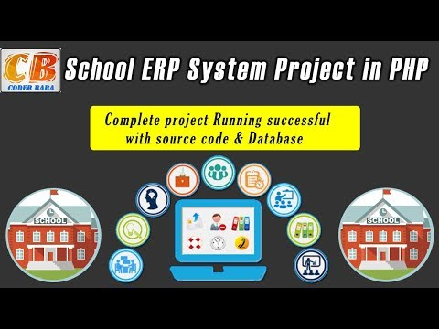 CODER BABA | School ERP System Project in PHP