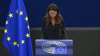 Intervento durante la Plenaria del Parlamento europeo di Simona Binafé, europarlamentare del Partito democratico, sul discorso di Ursula Von der Leyen, presidente della Commissione europea, sullo Stato dell'Unione.