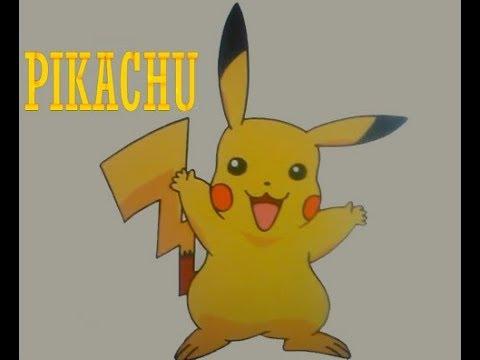 Comment dessiner pikachu pokemon facilement youtube - Dessiner pokemon ...