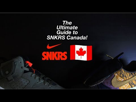 The Ultimate SNKRS App Canada Guide (How To Use, Verify Account, Essential Tips/Tricks)