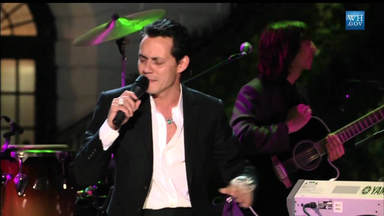 marc anthony at in performance at the white house: fiesta latina 2