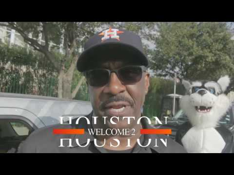 """""""Welcome to Houston"""" from Majic 102.1's Uncle """"Funky"""" Larry Jones"""