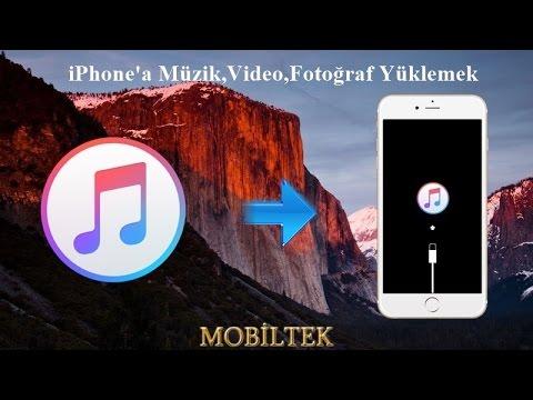 iTunes ile iPhone