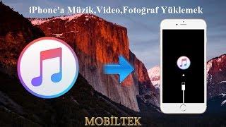 iTunes ile iPhone'a Müzik,Video,Fotoğraf Yüklemek Ya Da Bilgisayarınıza Atmak (2017)