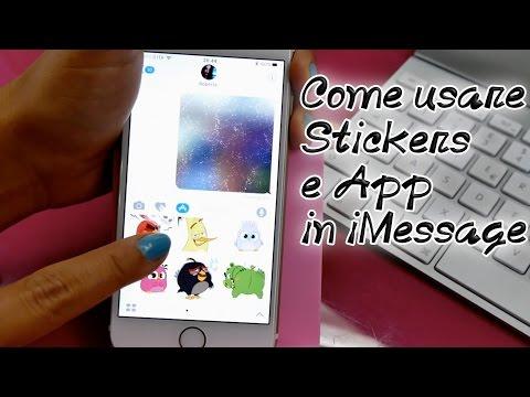 Come usare gli Stickers e le App in iMessage: la novità più divertente di iOS 10!