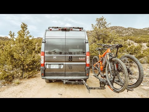 The NV 2.0 Hitch Rack + Pivot Swing Away Ext. by Küat [In-Depth Review]