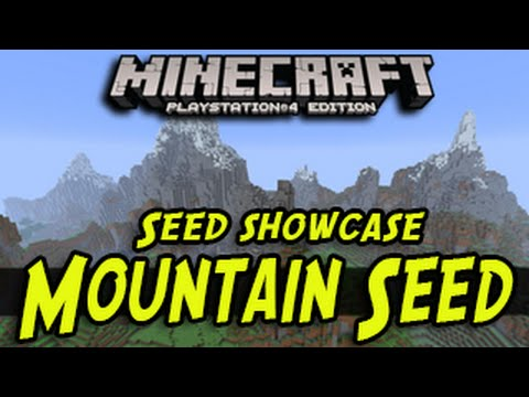 Minecraft (PS4, Xbox One) - Best  Survival Mountain Seed