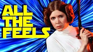 STAR WARS CARRIE FISHER TRIBUTE Brings All The Feels!