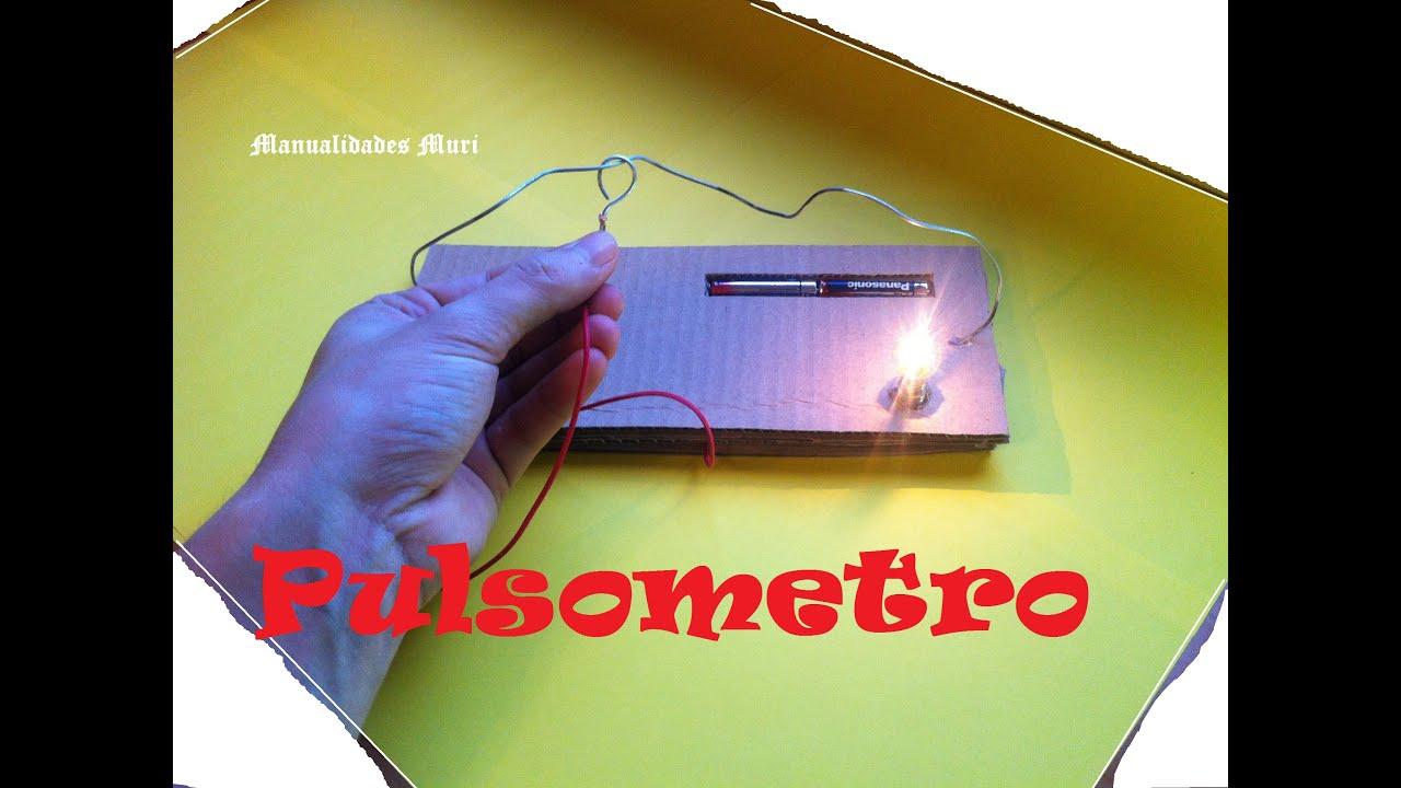 Manualidades como hacer un pulsometro casero youtube - Como hacer un toldo casero ...