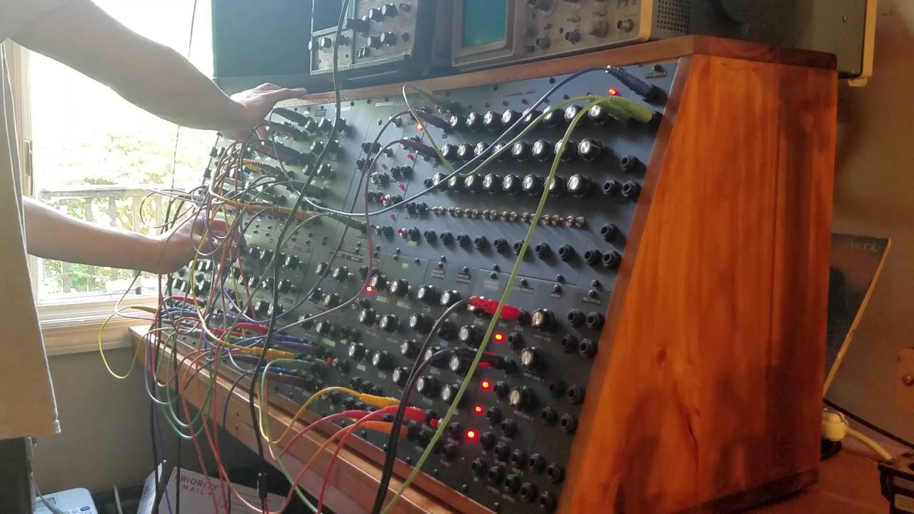 on the run pink floyd modular synthesizer cover youtube. Black Bedroom Furniture Sets. Home Design Ideas
