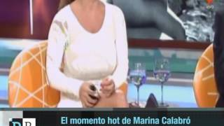 Marina Calabró hot en Intrusos