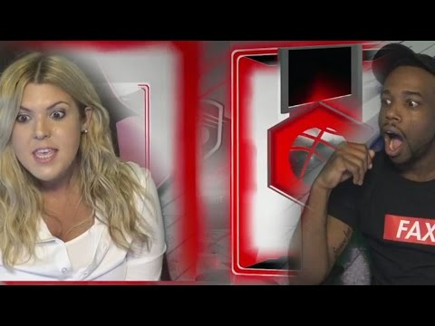 ME AND MY GIRLFRIEND PULLED 2 RUBYS! 3 SAPPHIRES! LUCKY PACK OPENING! NBA 2k17 MyTeam