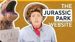 The Jurassic Park Website - Top 5 Worst Websites