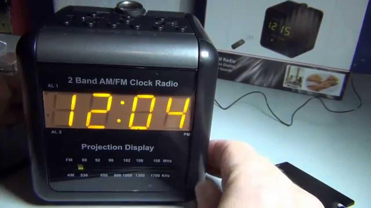 Hidden cam alarm clock - 1 part 1