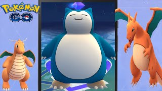 Legendary Battle MAX Gym Lv9 SNORLAX Taking Over w/ Epic Pokemon Go