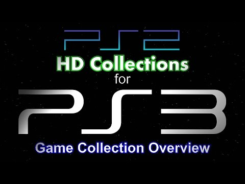 PS2 HD Collections for PS3 - PS3 Collection Overview