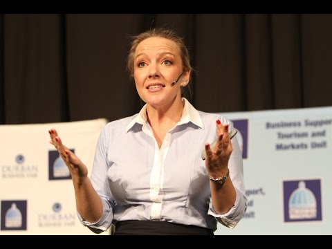Shelly Walters at the Durban Business Fair 2014 | Brought to you by IgniteSA and MyStartUp